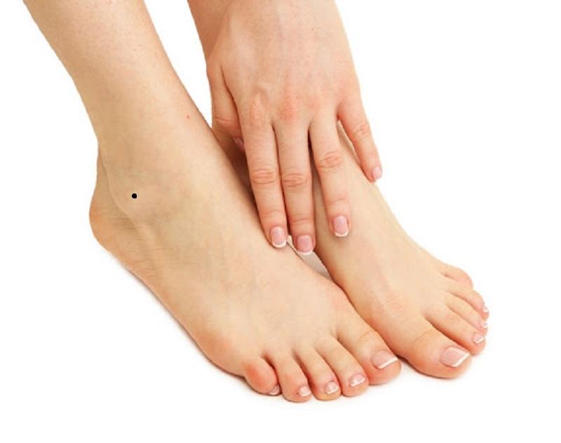 nốt ruồi ở chân