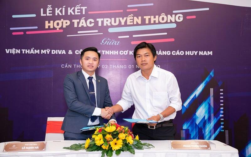 DIVA Group kí kết hợp tác trị giá hơn 1 triệu USD với công ty truyền thông Việt