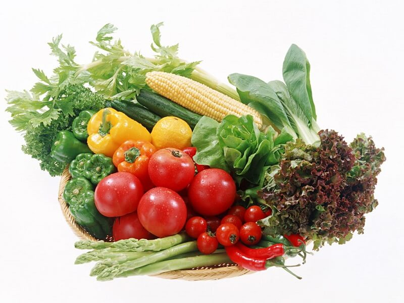 Ăn nhiều rau củ giúp chân mày mau lành và lên màu đẹp