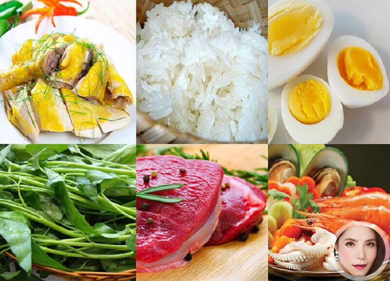 Có một số món ăn có ảnh hưởng đến chân mày sau khi phun