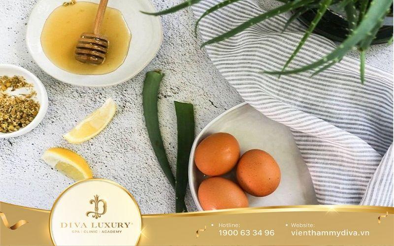 Cách trị nám da bằng trứng gà với mật ong