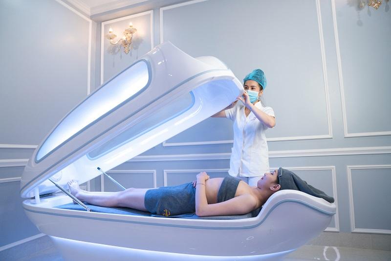 tắm trắng phi thuyền tại Viện thẩm mỹ DIVA