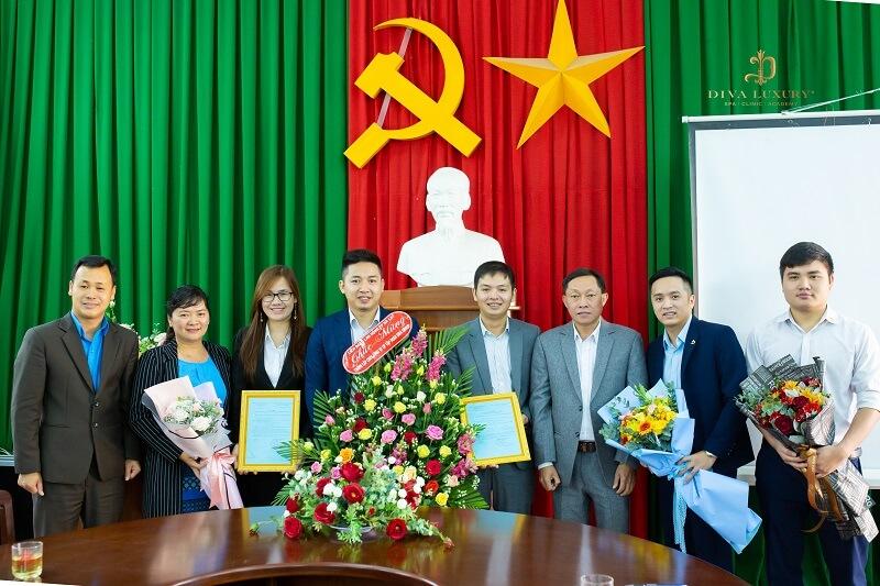 Bầu Ban Chấp hành lâm thời Công đoàn cơ sở Tập đoàn DIVA GROUP.